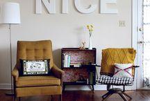 Decor Style: Retro/Mid-Century Modern / 50's and 60's inspirational
