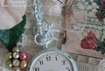 For the Home pale blue / lovely pastel blue romantic shabby