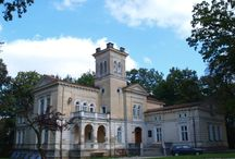 Łoniów - Pałac / Pałac w Łoniowie wzniesiony w 1885 roku dla rodziny Moszyńskich herbu Nałęcz. Obecnie własność prywatna.  Palace in Łoniów raised in 1885 for the family Moszyński of coat of arms Nałęcz. At present private property.