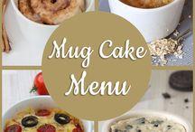 Mug Cake Menu's / www.mug-cakes.nl