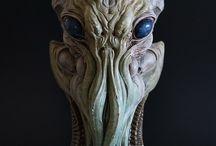 Alien maskers