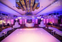 networking Event at Sofitel Hotel Beverly Hills ,CA / networking event for Event & Entertainment industry professionals at Sofitel Hotel in Beverly Hills , theme inspired by white lounge furniture and white dance floor and white bars with combination of Lavender ambiance lighting . Created by After Eight Event Productions Inc.