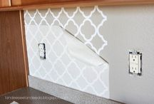 Back splash . Board + Batten / by Sokleng Nawaz