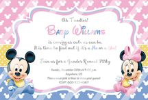 MY Baby Gender Reveal Party Invitations Ideas