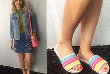Slides fashion