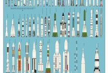 Rockets , Space vehicles & Astronauts