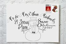 Christmas Card Addresses