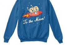 Bitcoin Shirts & Sweaters