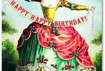 Στυλ vintage HAPPY BIRTHDAY