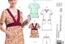 Scrubs, Uniforms Sewing Patterns
