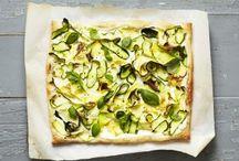 Zucchini-Fladen