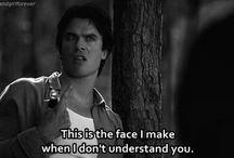 Damon and Bonnie #friendshipgoals