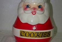Vintage Santa / All kinds of different vintage Santas! From blow mold to spun cotton, to German.  You name him, Vintage Santa is here.  #fatherchristmas #kriskringle #saintnick #santaclaus #santa
