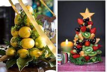Decoração de Natal e Ano Novo / idéias criativas para decoração da casa, mesa e tudo para este período.