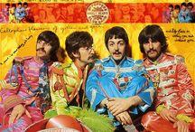 Beatles pinups / Los Beatles y sus amigos / by Salvador Alejandro