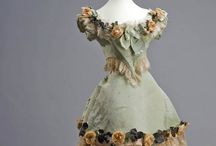 my 19th century dresses