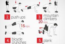 Workout / Allenamenti da palestra