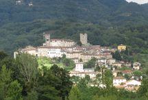 Coreglia Antelminelli en Ghivizzano / Coreglia Antelminelli en Ghivizzano zijn 2 pittoreske dorpen die behoren tot de mooiste dorpen van Toscane. Vooral in Ghivizzano is het precies of de tijd heeft stilgestaan.
