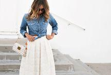 Lace clothes..