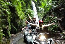 Bali ATV Adventure Tour / Bali ATV Adventure Tour  or Quad Bike offer an exciting experience during your vacation on Bali island.  riding through rice terrace, plantation, bamboo forest, jungle, river, villages, and picturesque panorama http://www.thebalipackage.com