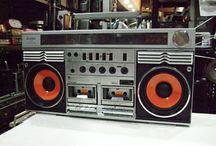 Radio-cassette player / Dead Media   cassette tape   Boom Box