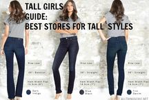 Tall girl clothes