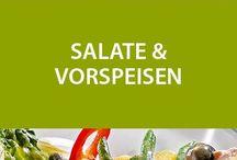 Vorspeisen & Salate / Ob kalt oder warm: Hier finden Sie Vorspeisen wie exquisite Amuse Bouches, Tartelettes, Quiches sowie frische Salate der gehobenen Küche.