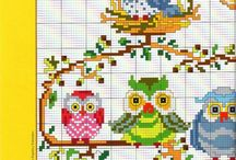 Assorted Cross-stitch