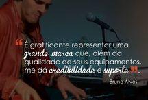 #endorsee Bruno Alves / Tecladista do NX Zero!