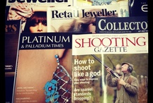 Magazines We Love / A collection of our favourite magazines, The Field, Horse & Hound, Country Life, Professional Jeweller, The Jeweller, GQ magazine and much much more!