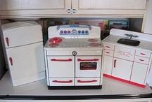 Vintage Kitchen Appliances & Stuff Toys