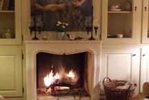 Fireplace/ Mantel / by Dorothy Stillwell