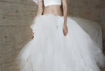 Bridal Separates / For when you want to show a little in the middle.