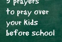 Prayers for Children b4 school