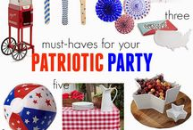 Hooray for the Red, White & Blue! / by Rosanna Inc.