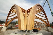 Glulam beams construction / Glulam beams structures, details, construction