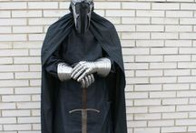Witch-King of Angmar / The Witch-King mask made by me.