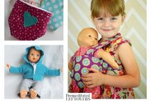 Sewing doll pattern