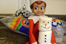 Elf on the shelf. / Christmas -elf on the shelf