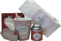 Valentijn kadosets - Kadootjesvoorhaar / Mooie liefdevolle kadosets speciaal samengesteld voor Valentijnsdag.