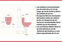 Utilidades para Arquitectos / Ilustraciones sobre distancias y medidas de muebles. #arquitectura #diseño #muebles