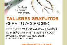 Talleres en Creare Accesorios / by Creare Accesorios
