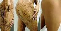 cuidado com corpo e pele.