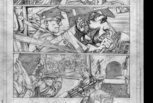Pages of Comics