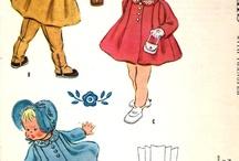 детская одежда 1940х