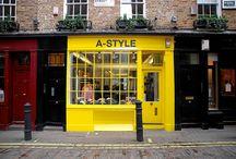 Vintage Shop / Tiendas emblemáticas vintage con solera y encanto de diversas ciudades por todo el mundo.