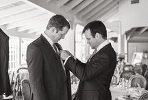 Getting Ready — Black & White / A selection of my black & white images during wedding preparation time.