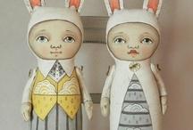 Art: Art Dolls & Softies