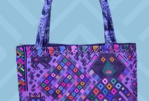 Tote bags from Guatemala