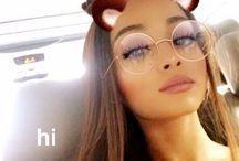 Ariana's Snapchat